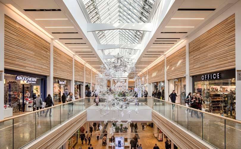 British Land completes its 60 million pound Meadowhall refurb