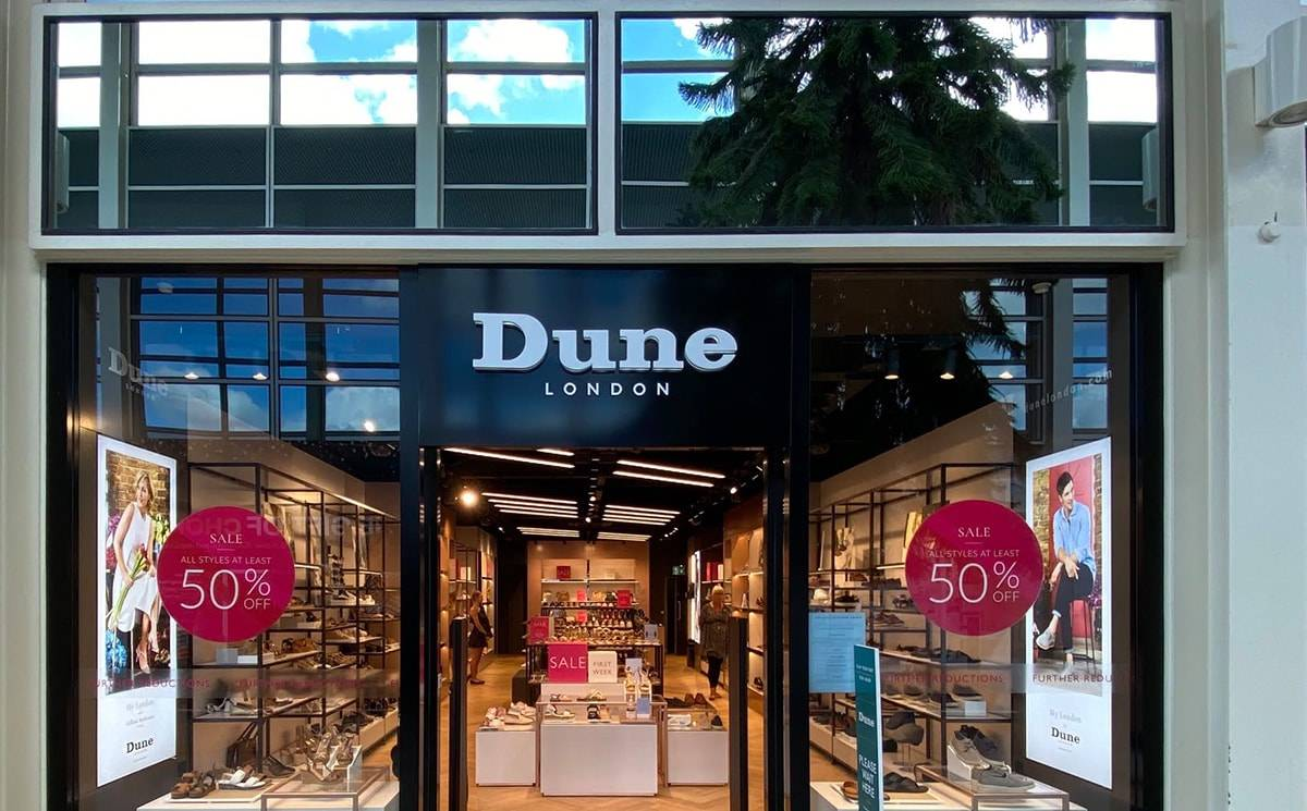 Dune London opens first new store post-lockdown at Centre:MK