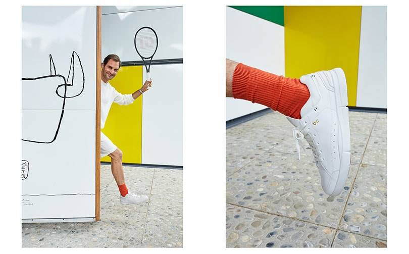 Roger Federer and On launches its first tennis-inspired sneaker