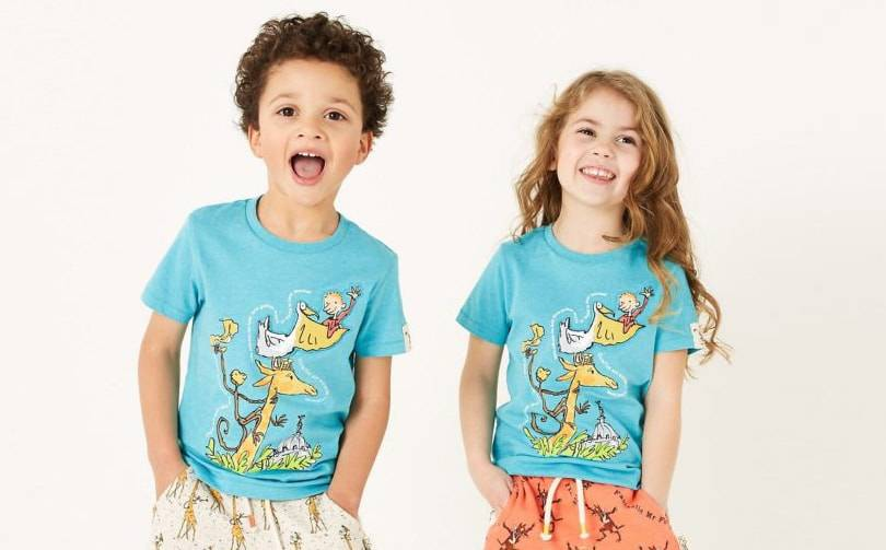 Marks and Spencer launches new kidswear collaboration