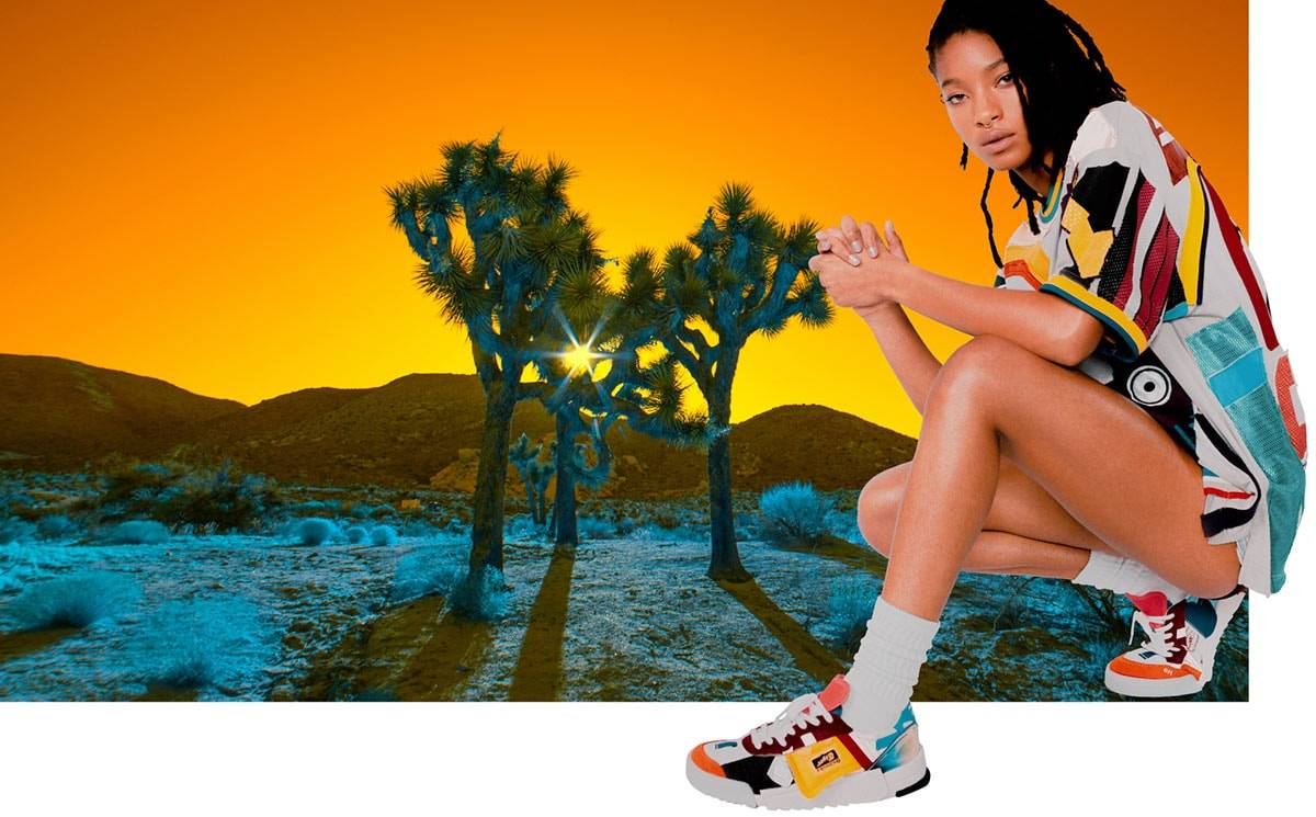 Onitsuka Tiger names Willow Smith as brand ambassador
