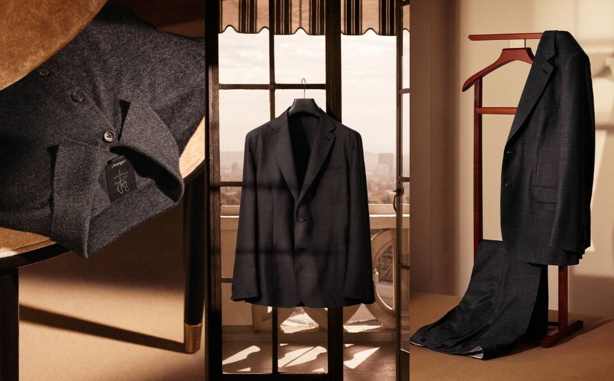 Brioni unveils capsule collection with Brad Pitt