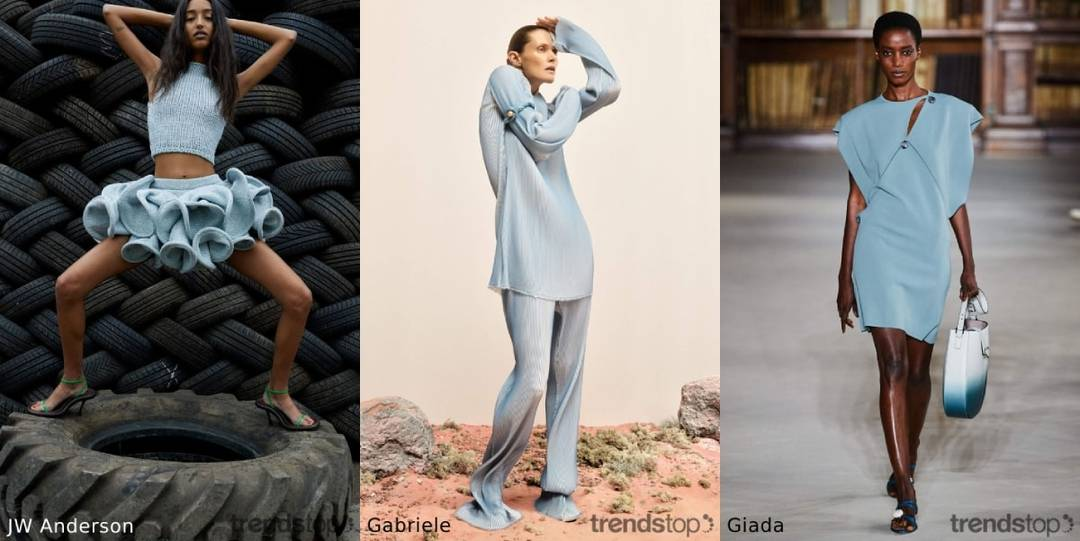 Womenswear SS22 color trends