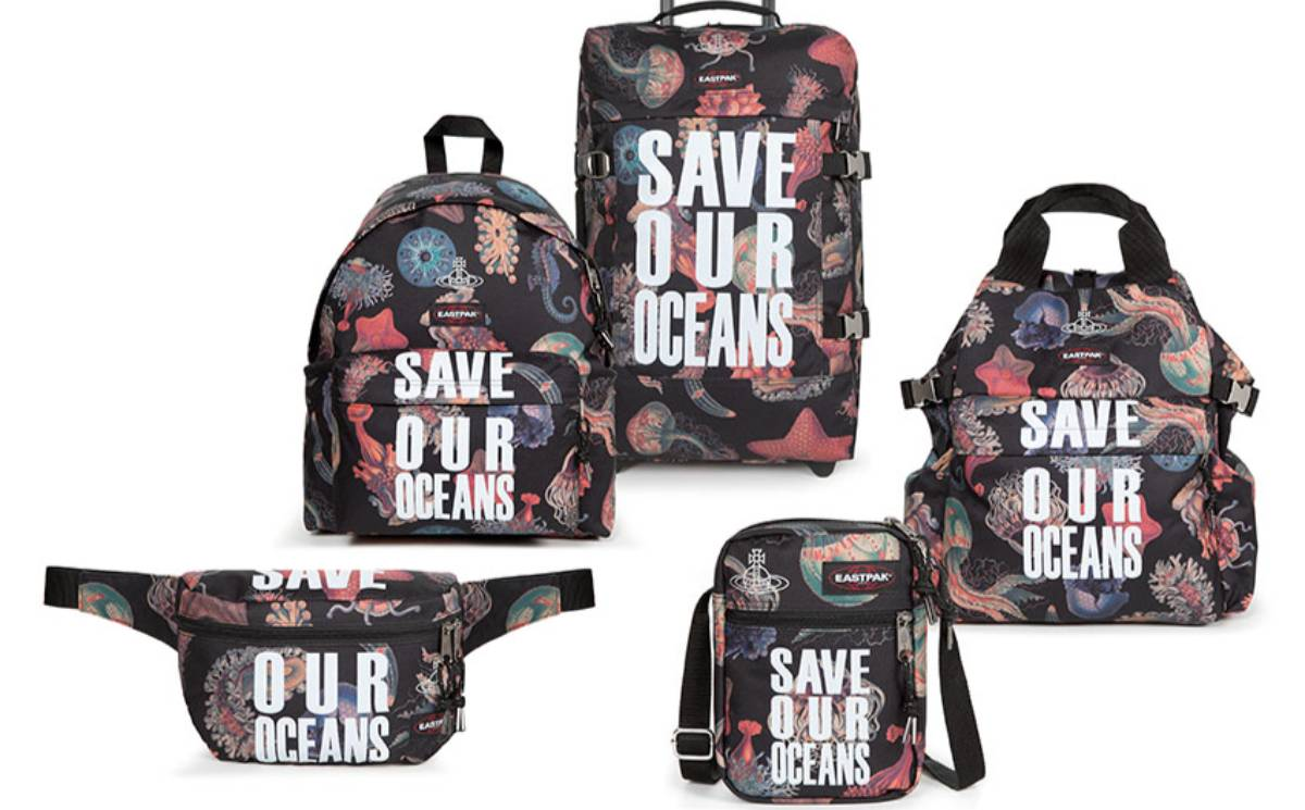 Vivienne Westwood unveils sustainable Eastpak collection