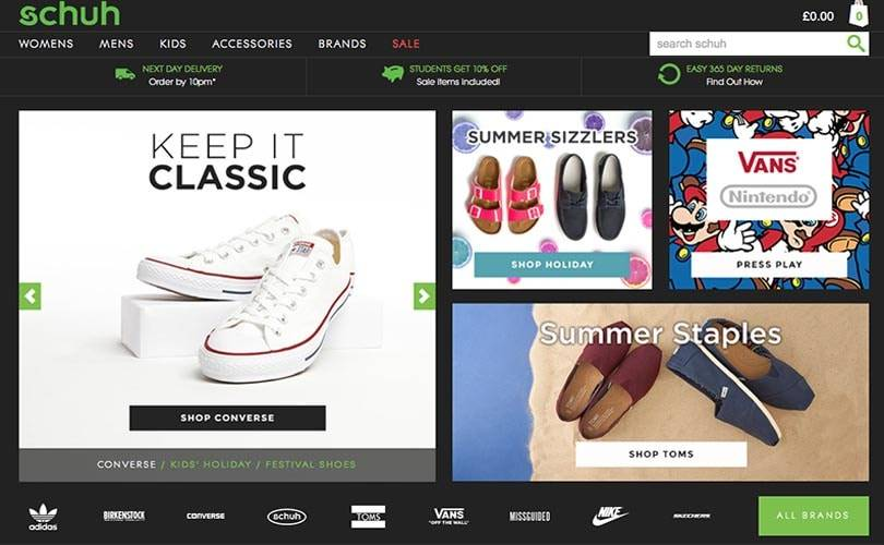 Schuh tops best performing multi-channel retail ranking