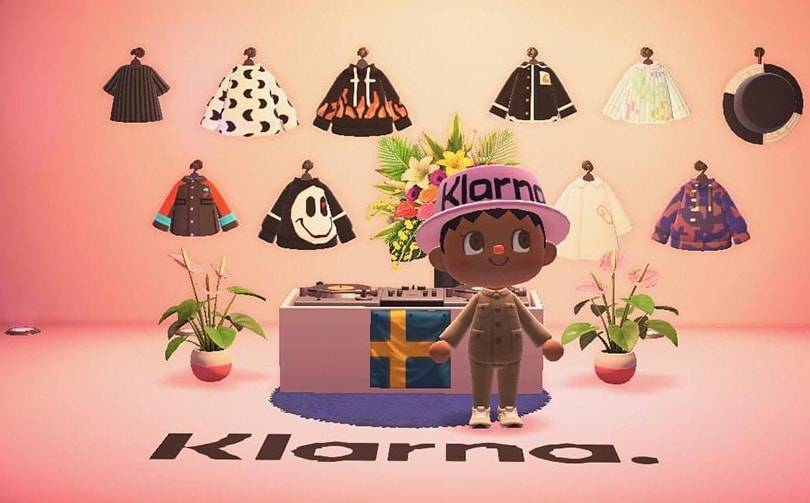 Klarna creates virtual shopping experience via Nintendo's Animal Crossing