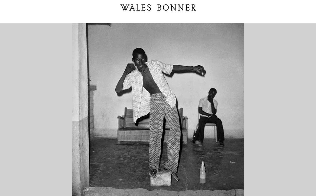 Video: Wales Bonner at PFW