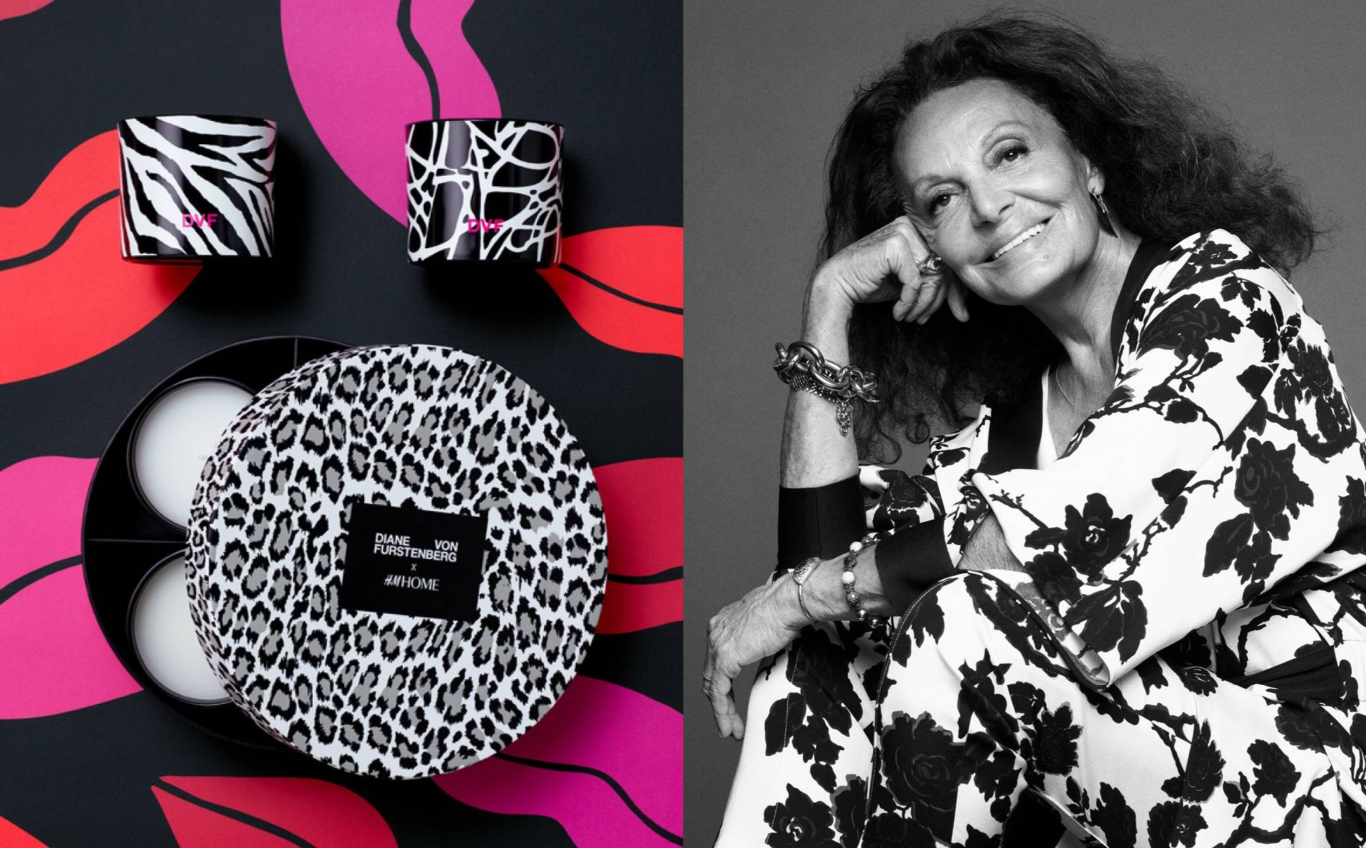 Diane von Furstenberg's interior collection for H&M Home launches