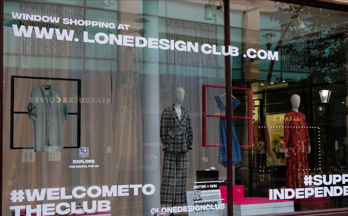 Lone Design Club launches Wales' first-ever shoppable window