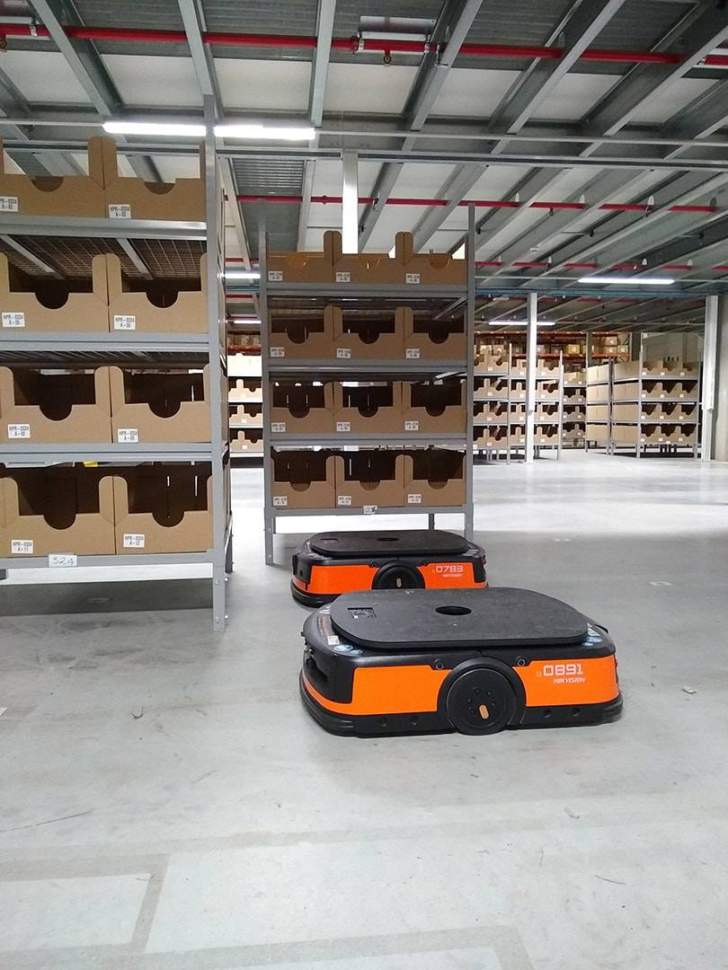 The future is now: robots and other promising innovations in the supply chain