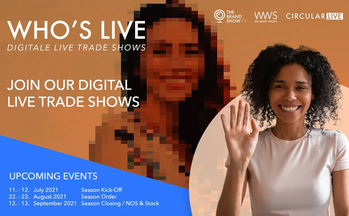 Digital Live Trade Show 'Who's Live' kicks off next Sunday