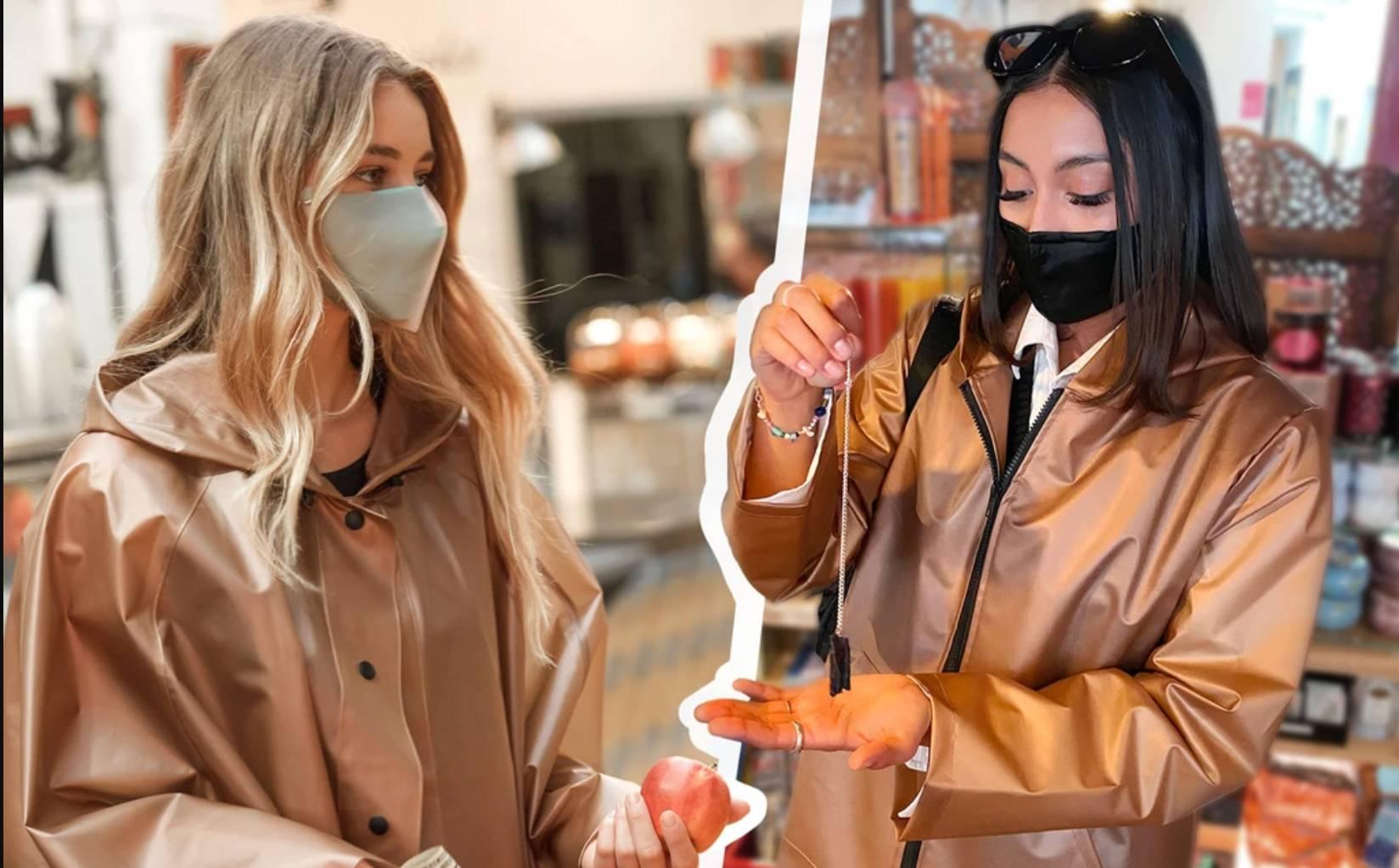 VForce Collection lance des manteaux imprégnés de cuivre qui prétendent tuer les virus.