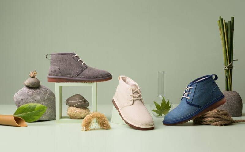 Ugg launches footwear collection made from plant-based materials