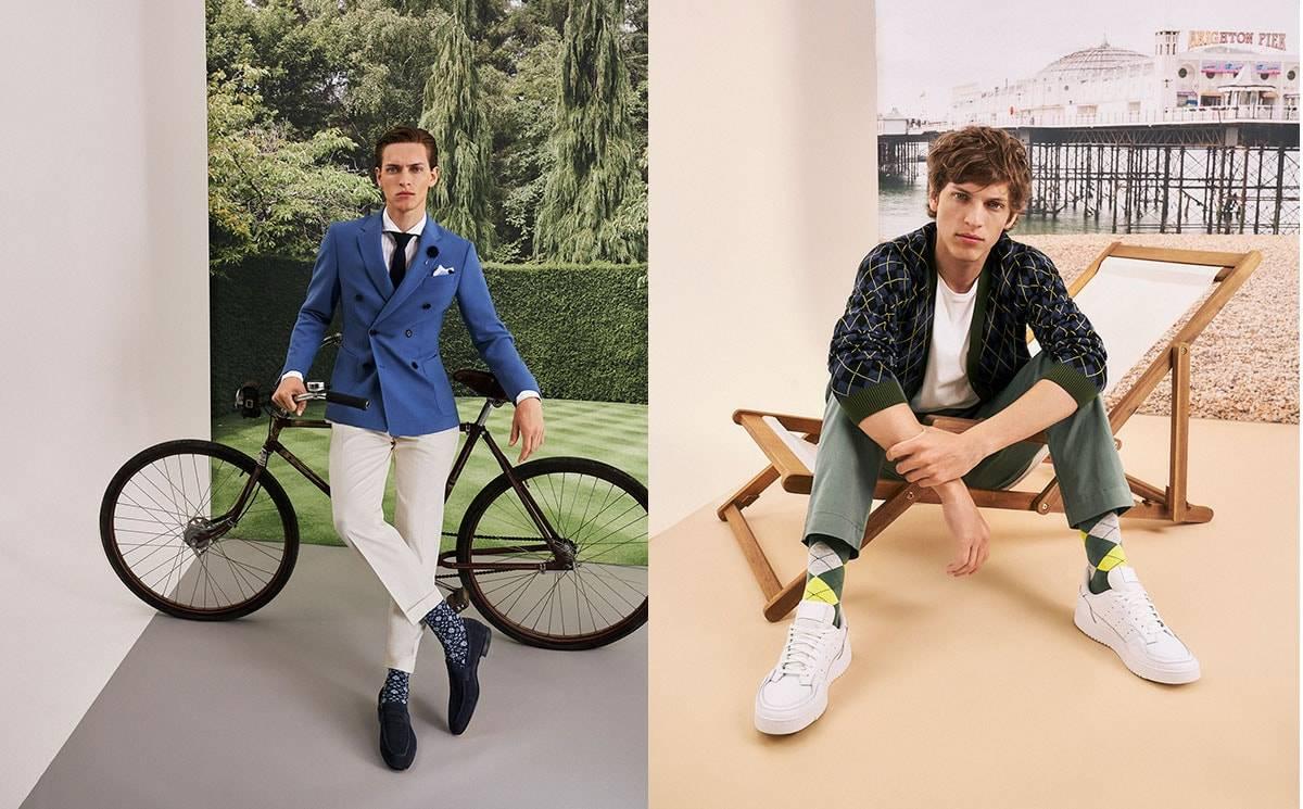 Burlington Men's Legwear Spring/Summer 2022