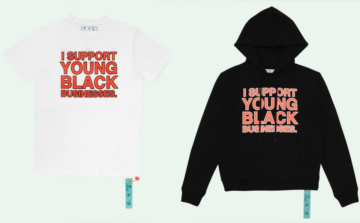 Off-White launches 'I Support Young Black Businesses' initiative