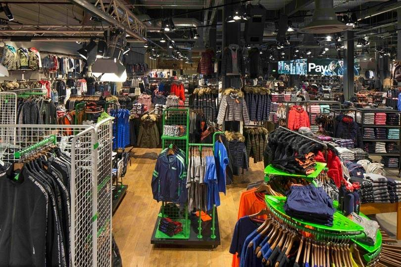 Superdry opens first store with dedicated sports entrance