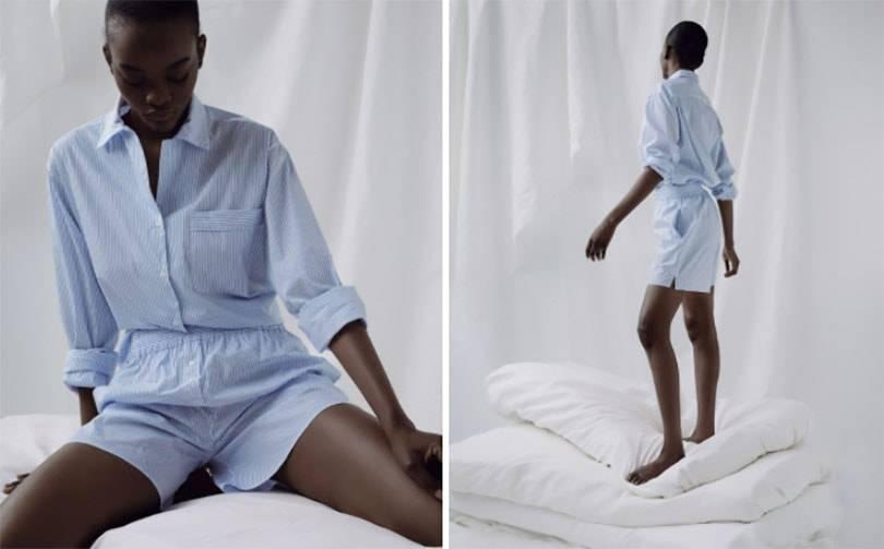 A-line lance une collection de pyjamas upcyclés