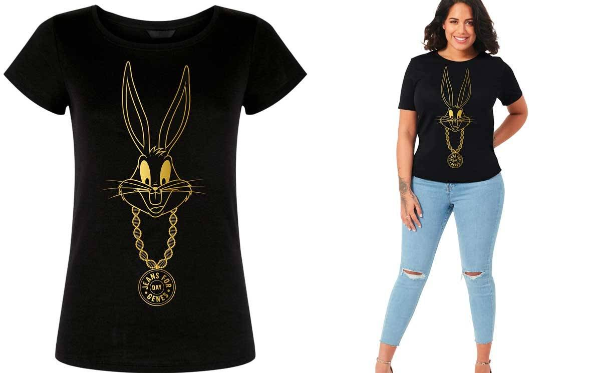 Jeans for Genes teams up with Bugs Bunny for 25th anniversary