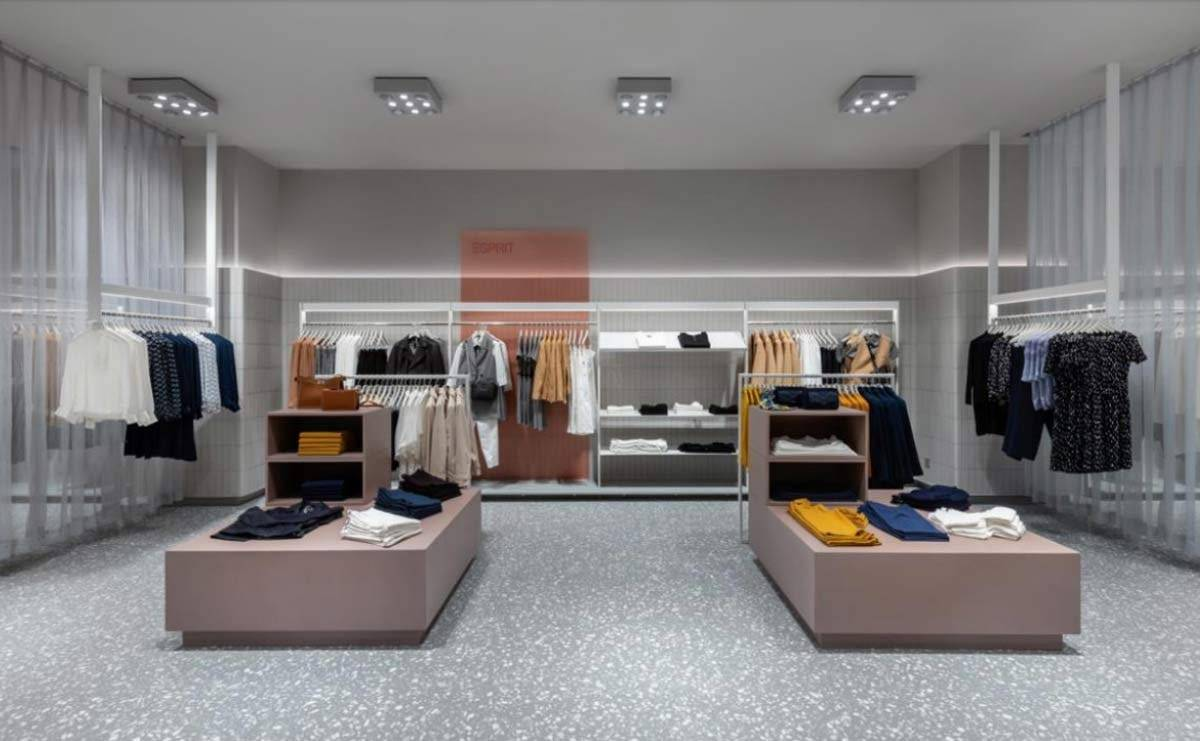 Esprit presents new store concept