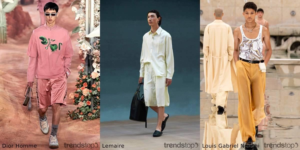 Spring/Summer 2022 menswear fabric trends