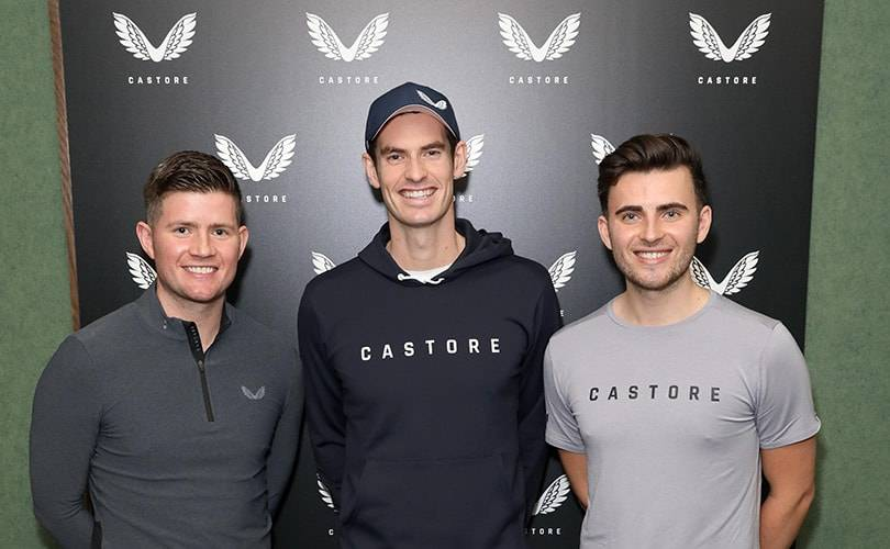 Andy Murray becomes shareholder in sportswear brand Castore