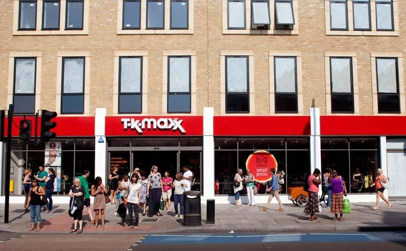 TK Maxx tops fashion customer satisfaction survey