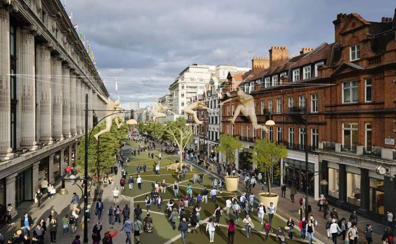 Plans to pedestrianise Oxford Street scrapped
