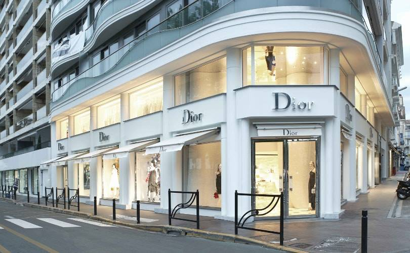 Christian Dior sets up flagship at Cannes