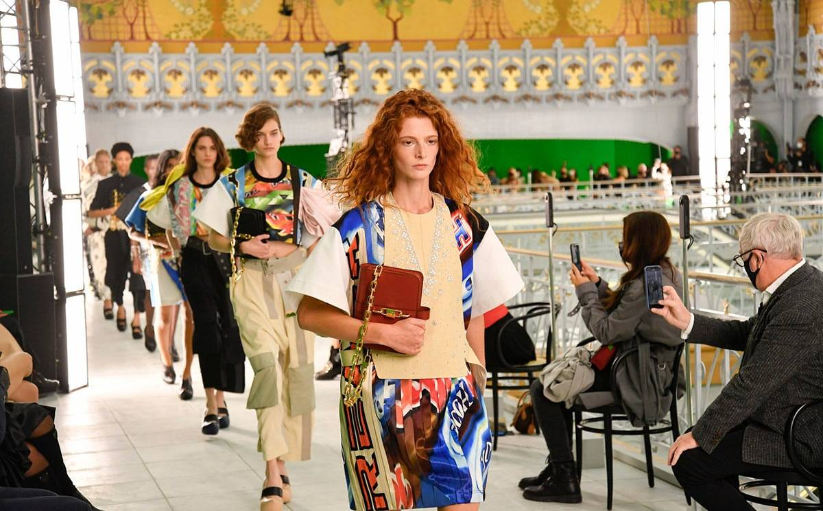 PFW: Louis Vuitton closes with a political statement and genderless looks