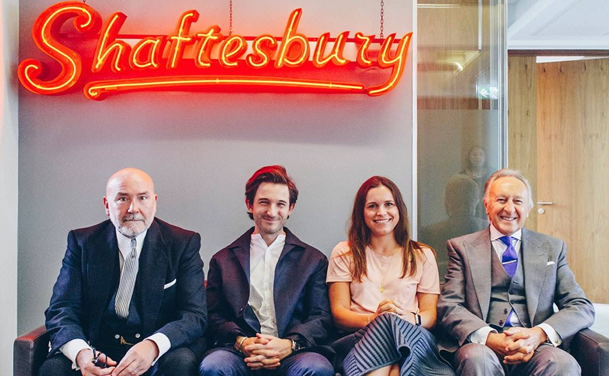 Landlords Shaftesbury offers two young tailors incubator space