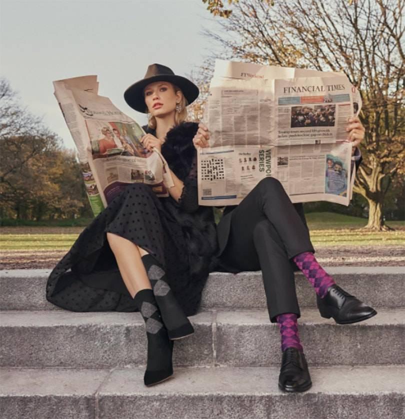 Burlington Women's & Men's Legwear Autumn/Winter 2021/2022