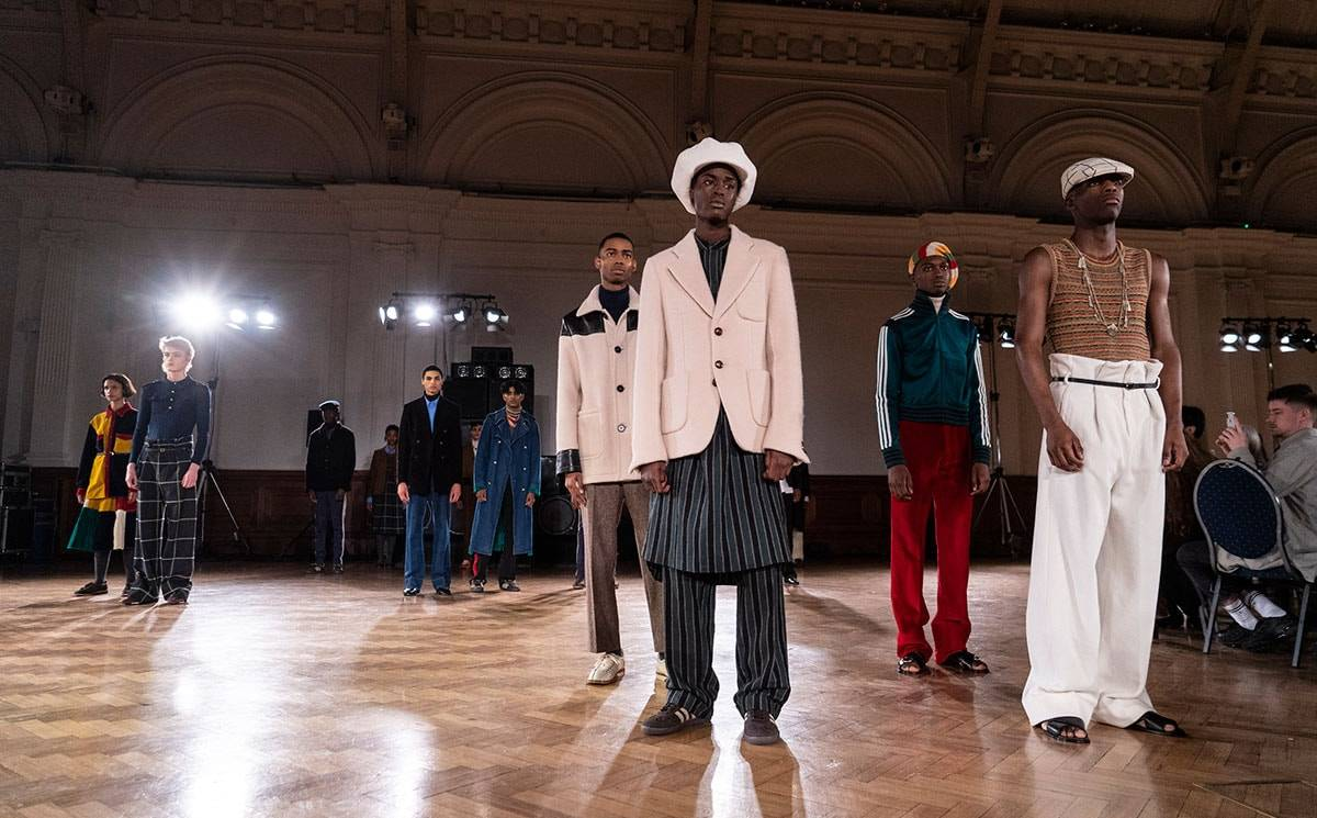 Wales Bonner redefining masculinity at LFWM AW20/21