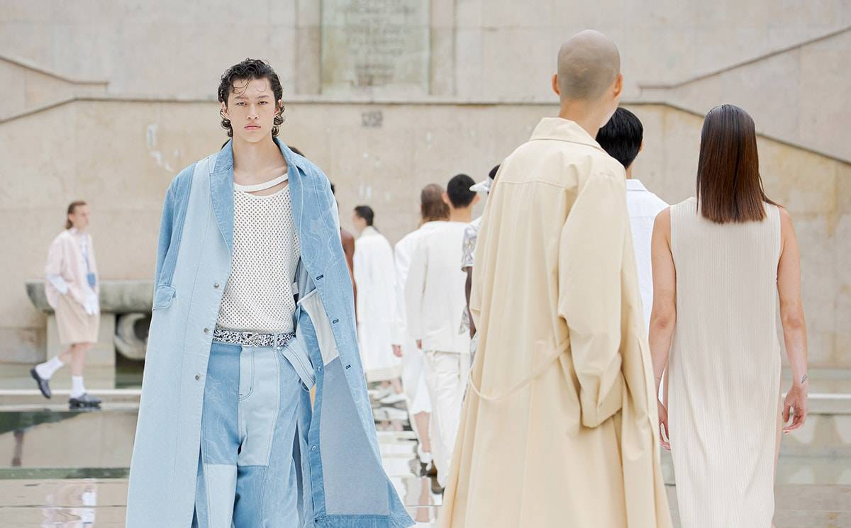 Men's fashion week Paris at half capacity