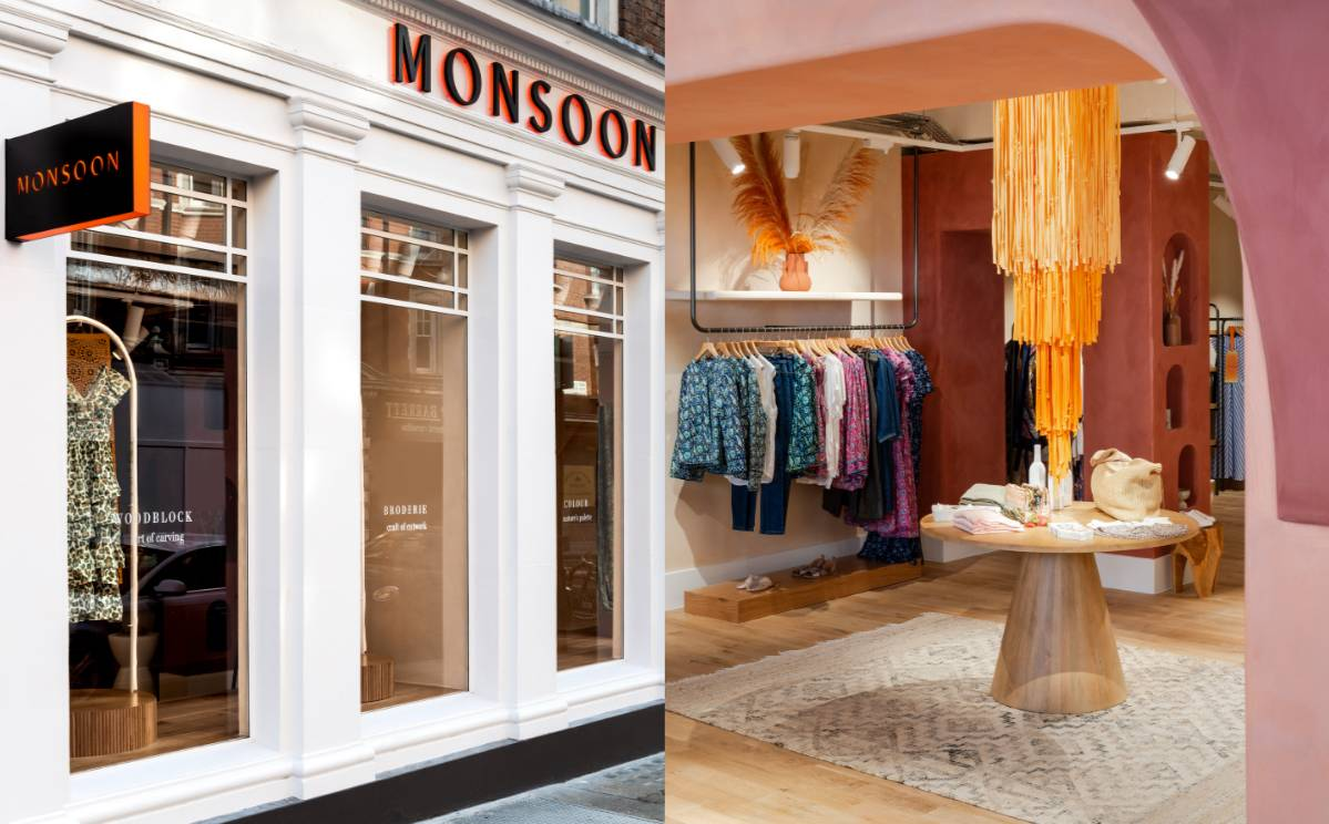 Monsoon opens new boutique store concept in London