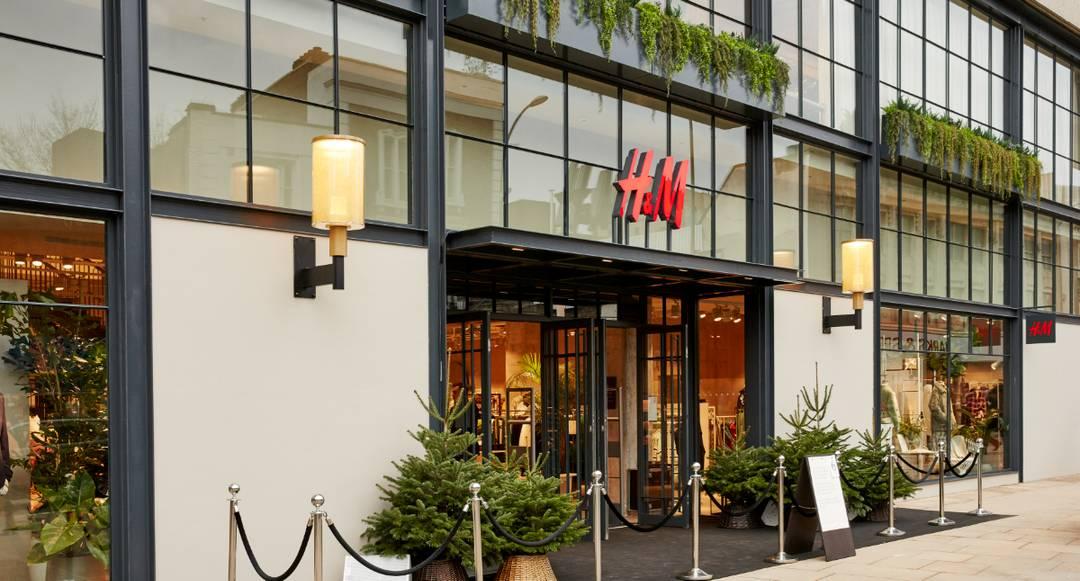 Image: H&M Hammersmith store, London