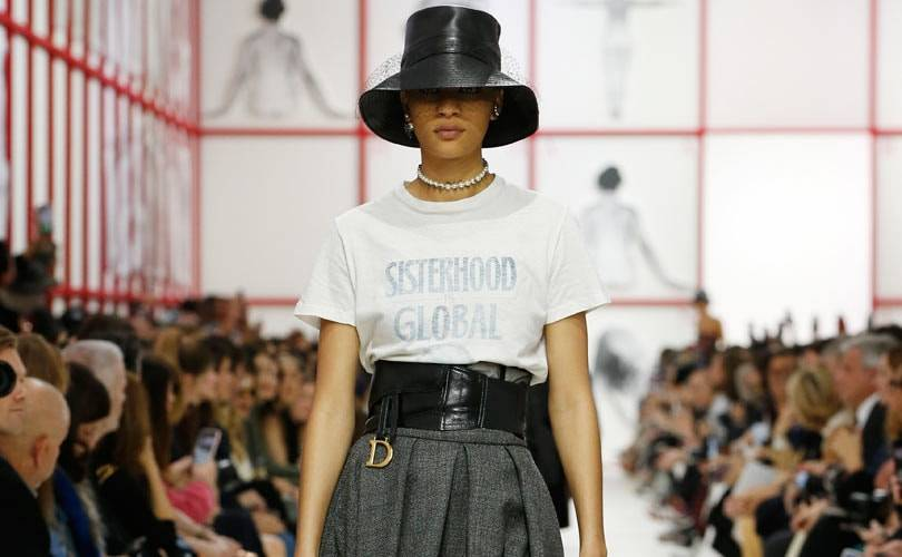 Teddy Girls make comeback in Dior's rebel Paris show