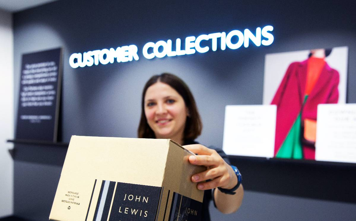 John Lewis temporarily suspends click and collect services