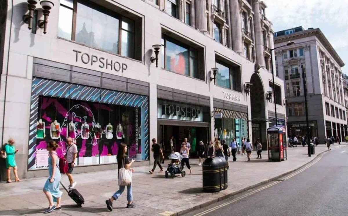 Topshop's iconic Oxford Street store is for sale for 400 million pounds