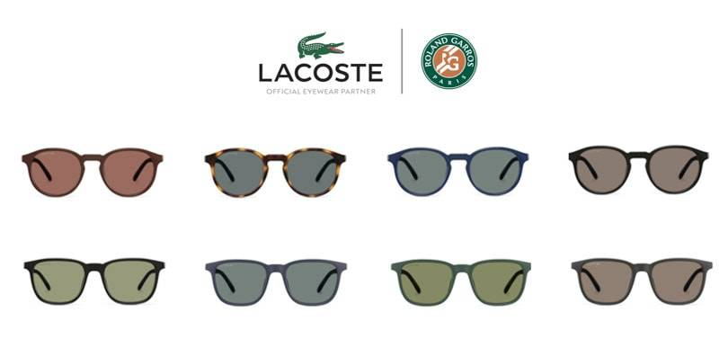LACOSTE LAUNCHES THE ROLAND - GARROS EYEWEAR COLLECTION