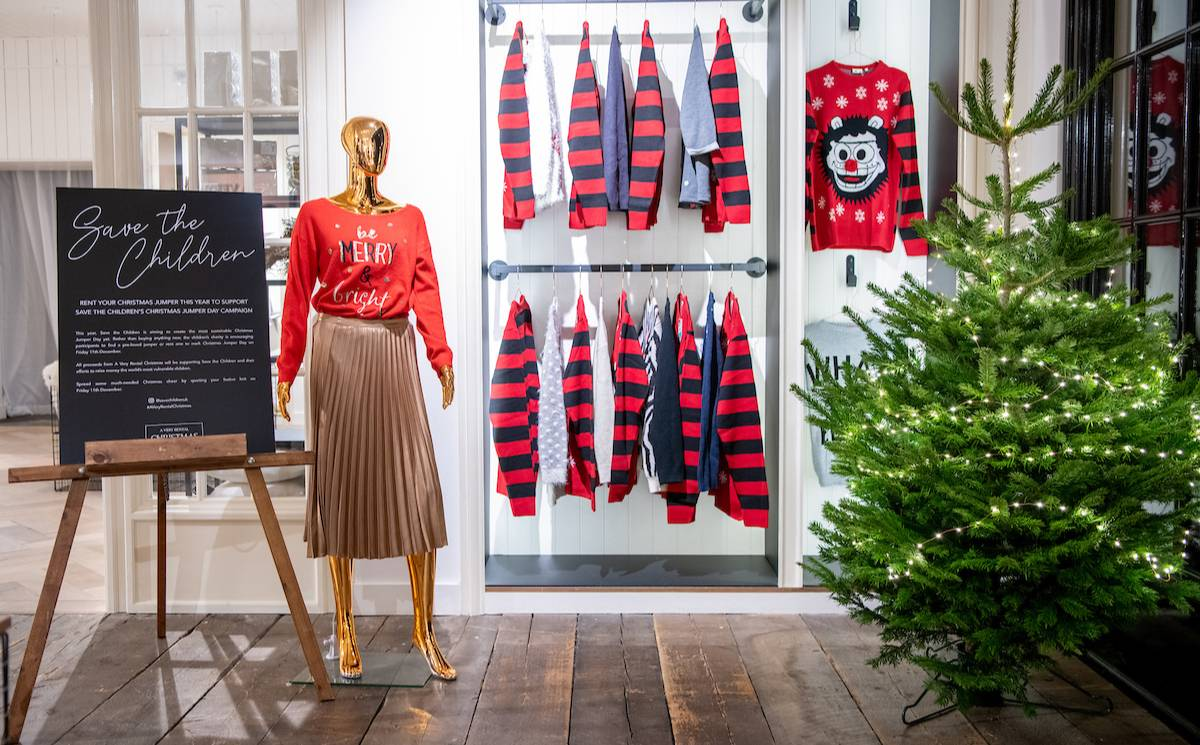 """Westfield launches a """"very rental Christmas"""" pop-up"""