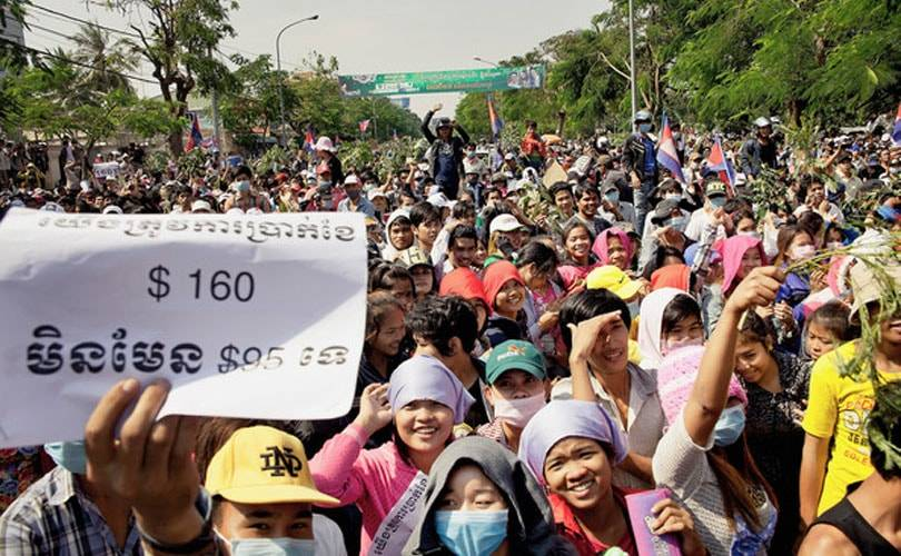 Cambodia: minimum wage for garment workers reaches 140 US dollars