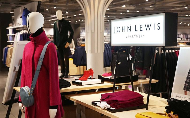 John Lewis reports slow start to festive sale