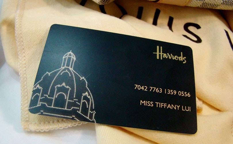 Harrods employee steals 280,000 pounds of loyalty card points