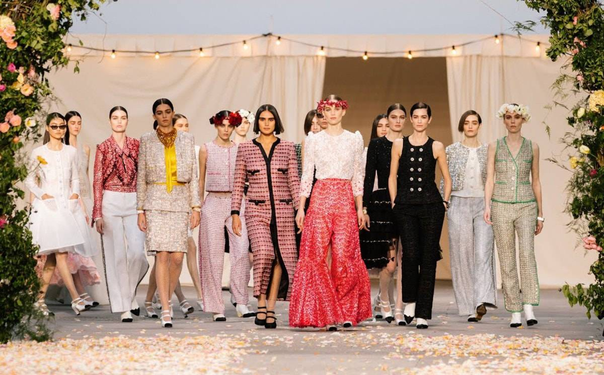 Video: Chanel Haute Couture show SS21