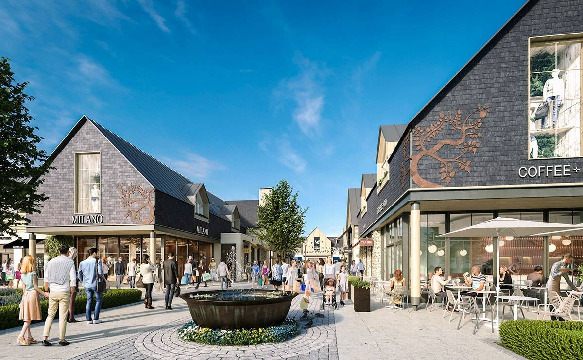 Plans unveiled for 195,000-square-foot designer village in the Cotswolds