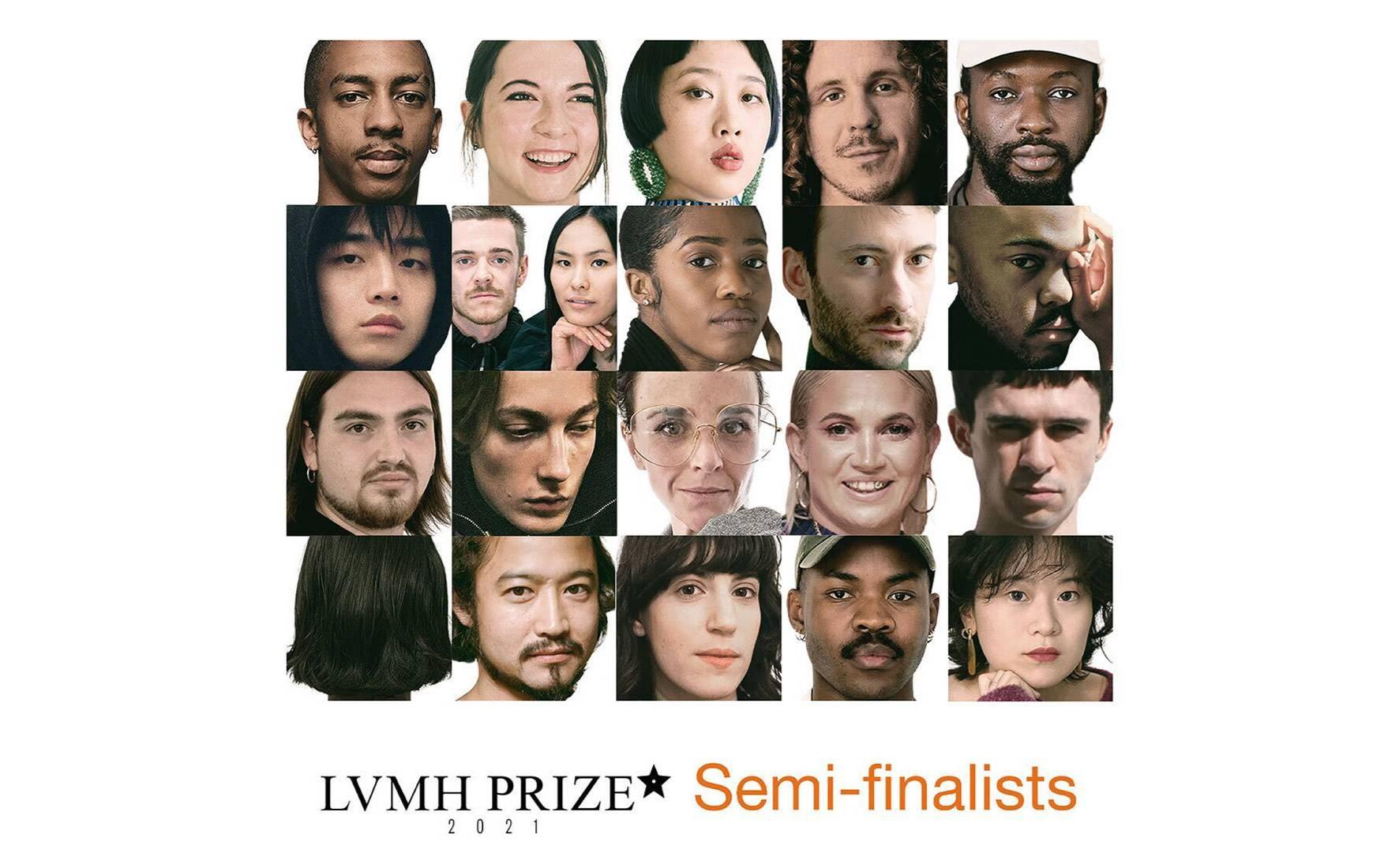 LVMH announces semi-finalists for young fashion designer prize