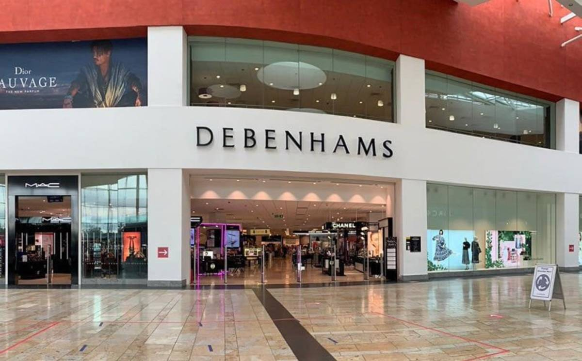 Debenhams found a buyer, but not for its stores and staff
