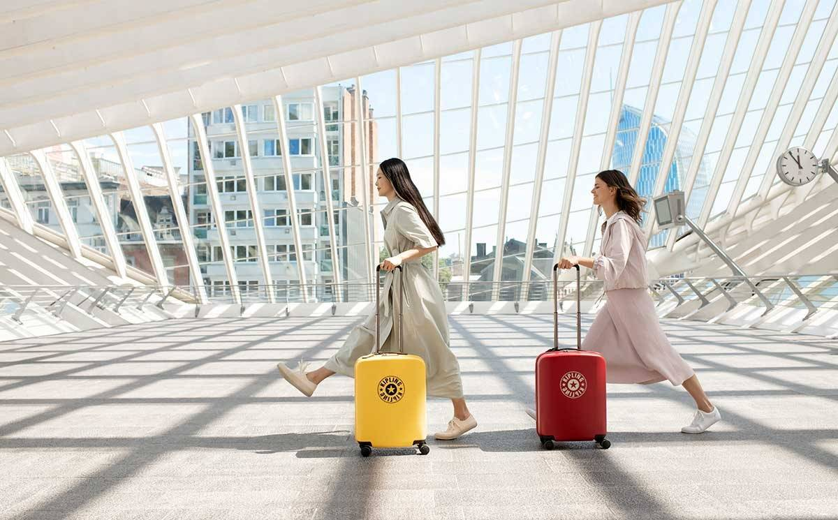 Kipling to debut hard-case luggage
