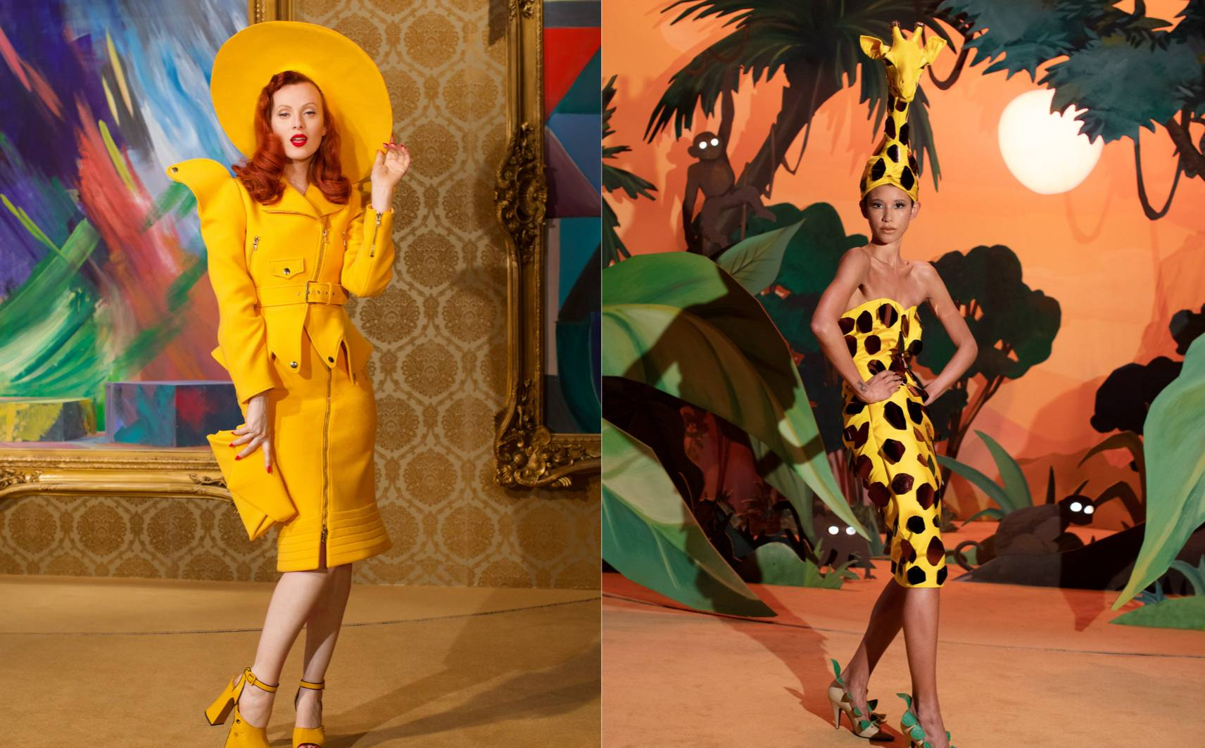 Fall 2021 womenswear trend: yellow