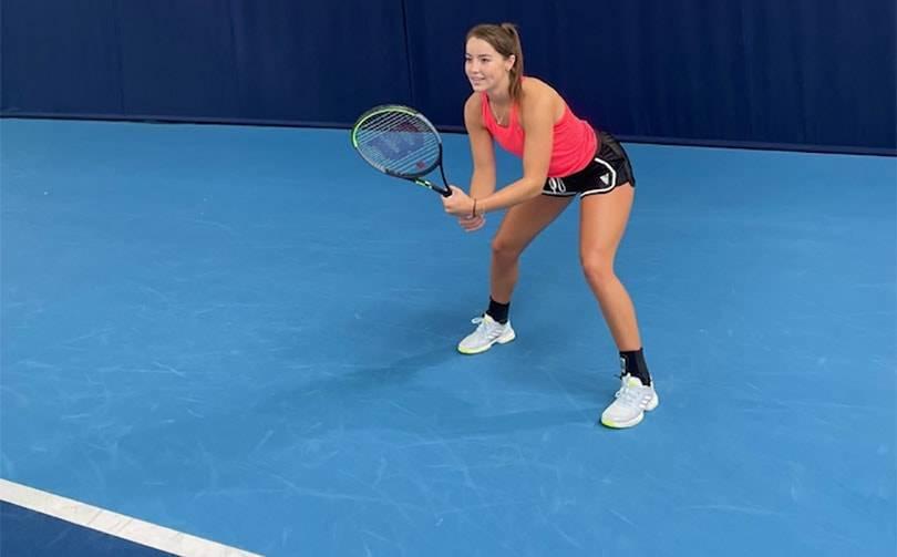 KOMODO sponsoring British Tennis Player Jodie Burrage